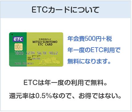 HOP VISAカードのETCカードについて
