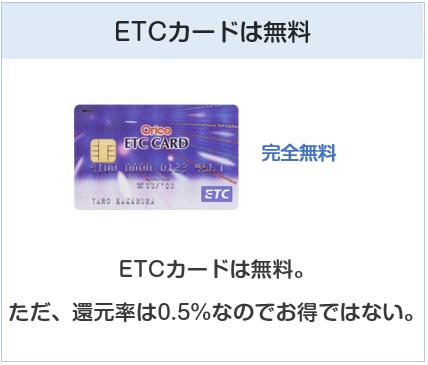 ジョーシンカードのETCカードは無料