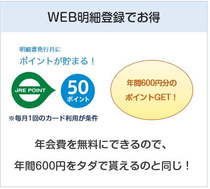 ビックカメラSuicaカードはWEB明細登録&毎月の利用で年間600ポイント貰える