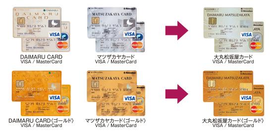 大丸松坂屋カード名前変更