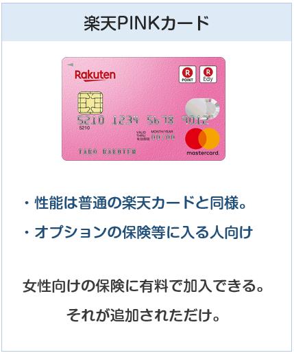 種類:楽天PINKカード