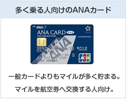ANA JCB ワイドカードは多く乗る人向けのANAカード