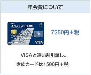 ANA JCB ワイドカードの年会費について