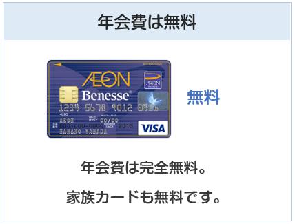 ベネッセ・イオンカードの年会費は無料