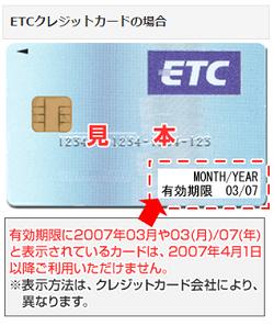 ETC有効期限