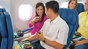 ハワイアン航空 エコノミークラス