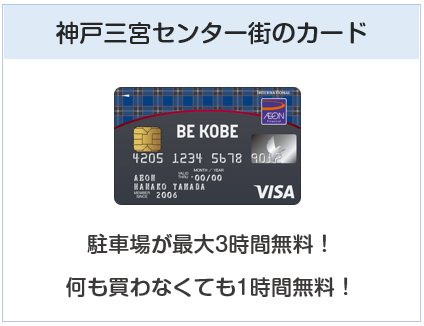 BE KOBEカードはは神戸三宮センター街でお得になるクレジットカード