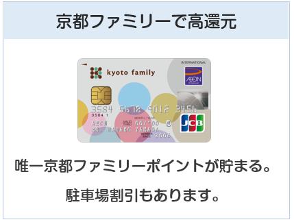 京都ファミリーカードは京都ファミリーで高還元