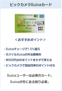 ビックカメラSuicaカード