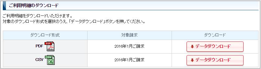 名鉄ミューズカード WEB明細ダウンロード