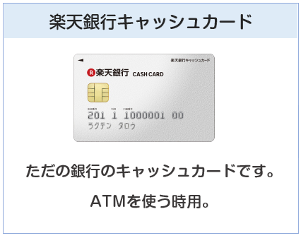 楽天銀行キャッシュカード