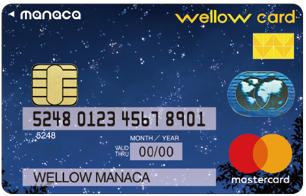 wellow card manaca(ウィローカードマナカ)